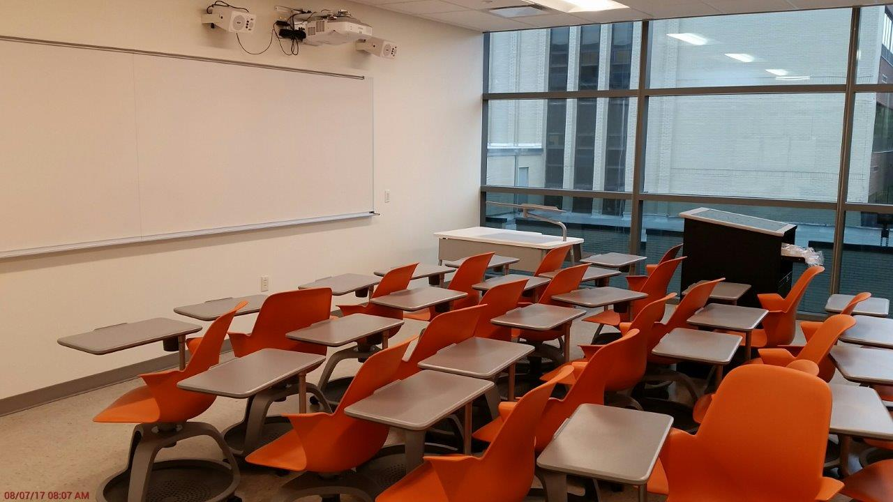 Science Building Classroom Seating