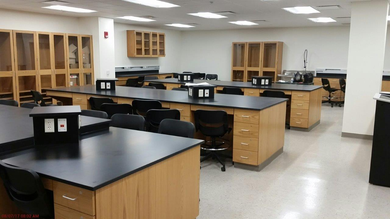 Science Building New Classroom Space
