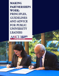 aascu partnerships report