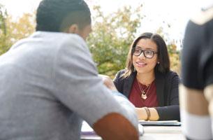 Prospective students meeting