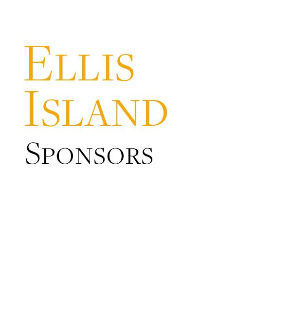 Ellis Island Sponsors