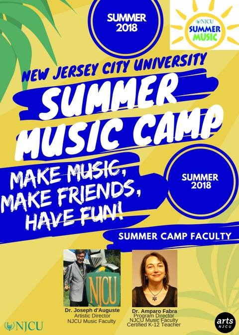 Summer Music Camp Poster