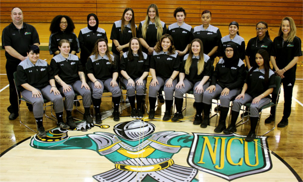 NJCU Women's softball team