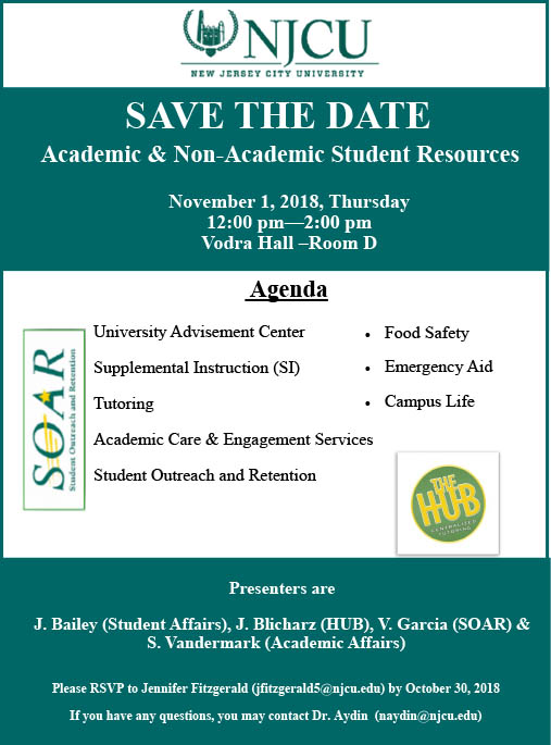 academic support for students workshop flyer