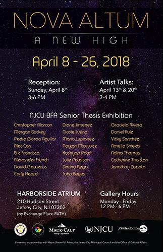 BFA 2018 Thesis Exhibition Poster