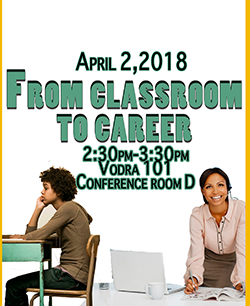 From Classroom to Career Flyer