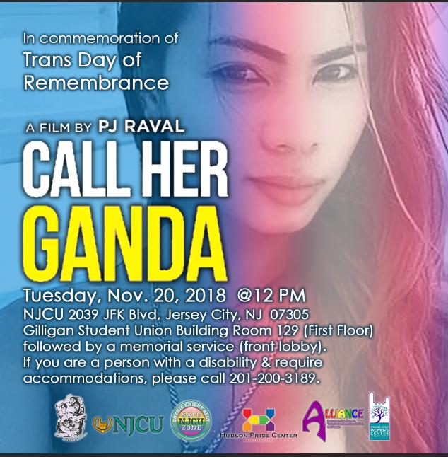 Call Her Ganda movie flyer