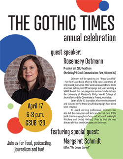 Gothic Times Celebration Flyer 2018