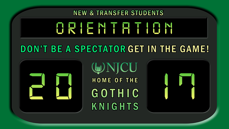 New and Transfer Students orientation