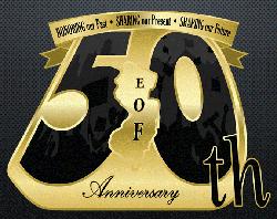 eof 50th anniversary logo