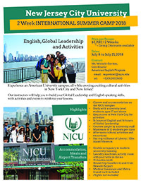 international summer camp