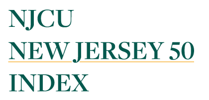 NJCU New Jersey 50 Index is an index of publicly traded equity securities designed to be a barometer of the Garden State's economy.