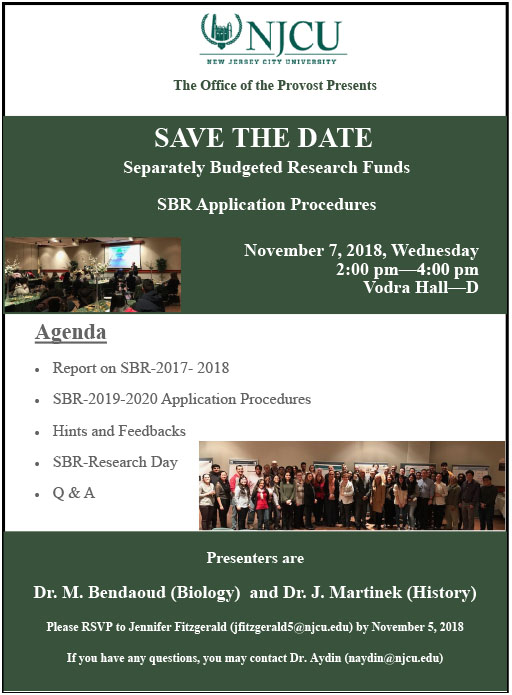 Provost Event SBR flyer