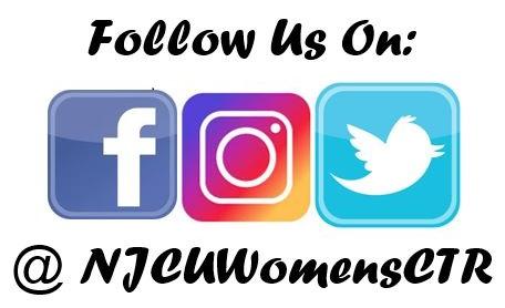Social Media Handle is @njcuwomensctr