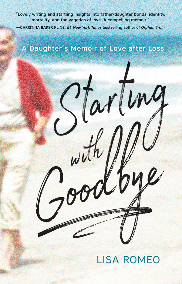 Cover image for book titled Starting with Goodbye