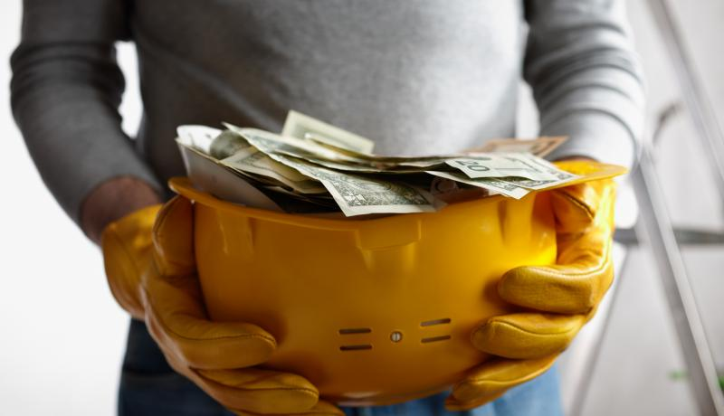 hardhat profit - stock photo GettyImages-152988221