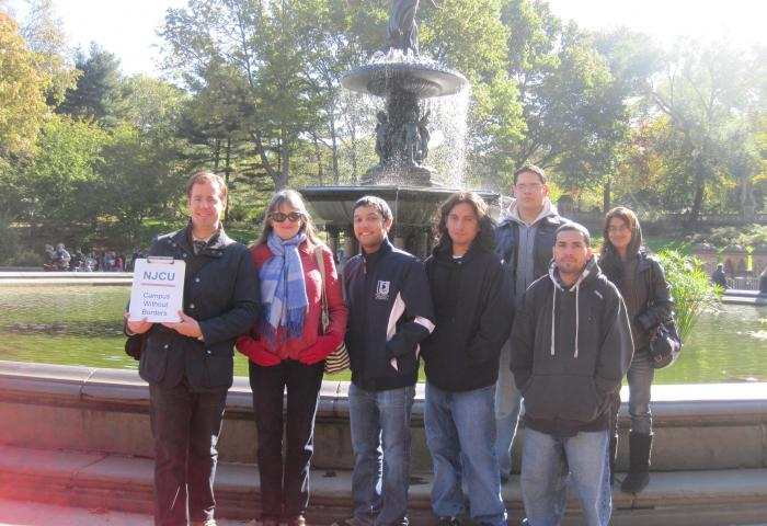 NJCU Walking Tours Group Photo 1