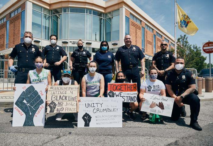 2020.06-06 NJCU Solidarity March (Student-Athletes & Staff with JCPD) 1