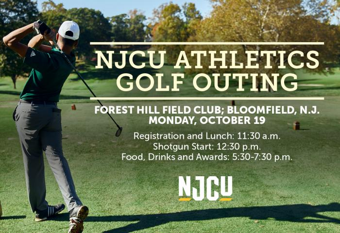 The promo for the 2020 NJCU Golf Outing