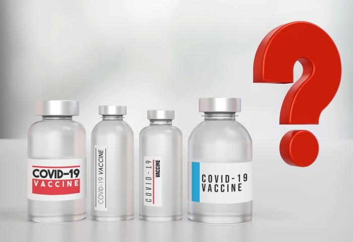 Which vaccine should I choose? Global Covid-19 Vaccine concept. - stock photo GettyImages-1295932639