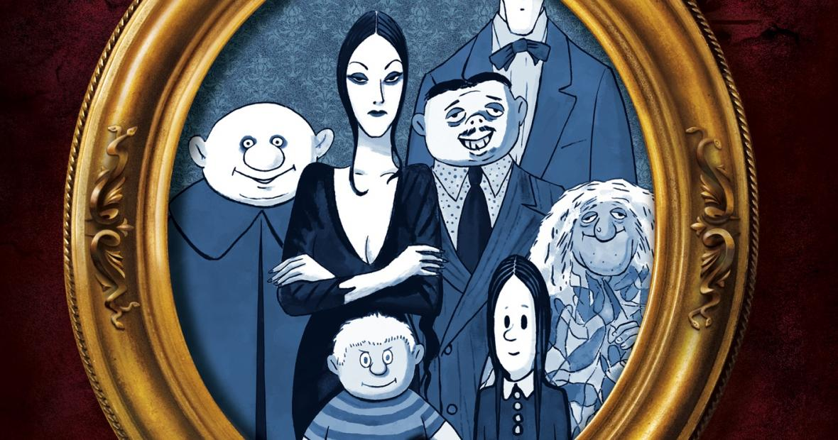 The Addams Family Animated Portrait