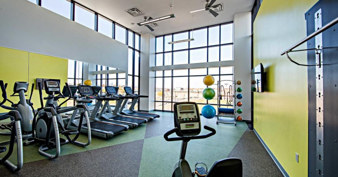 West Campus Fitness Room