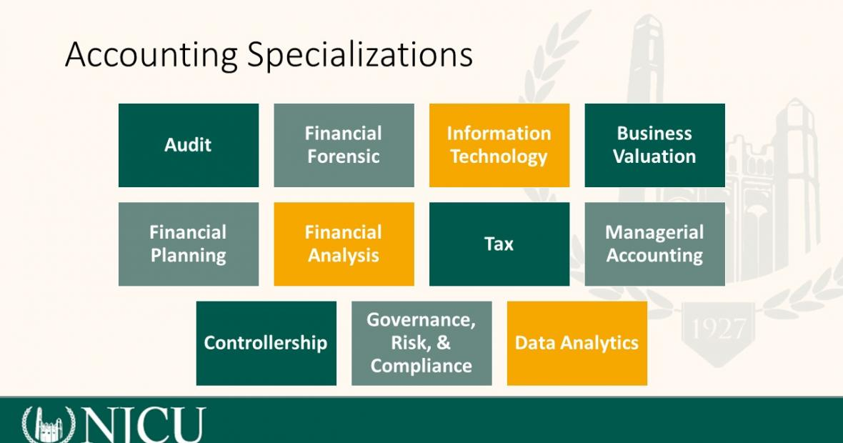 ACCOUNTING SPECIALIZATIONS