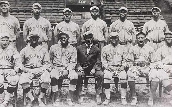 Team from the Negro Leagues