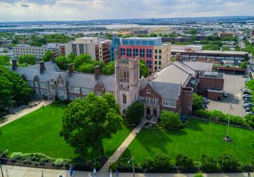 Campus from photographed by Drone