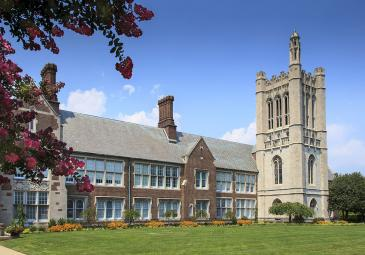 Hepburn hall and lawn