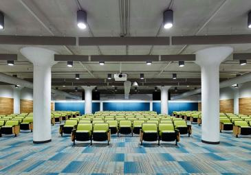 njcu school of business lecture hall
