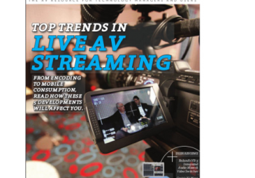 Cover of AV Technology Magazine