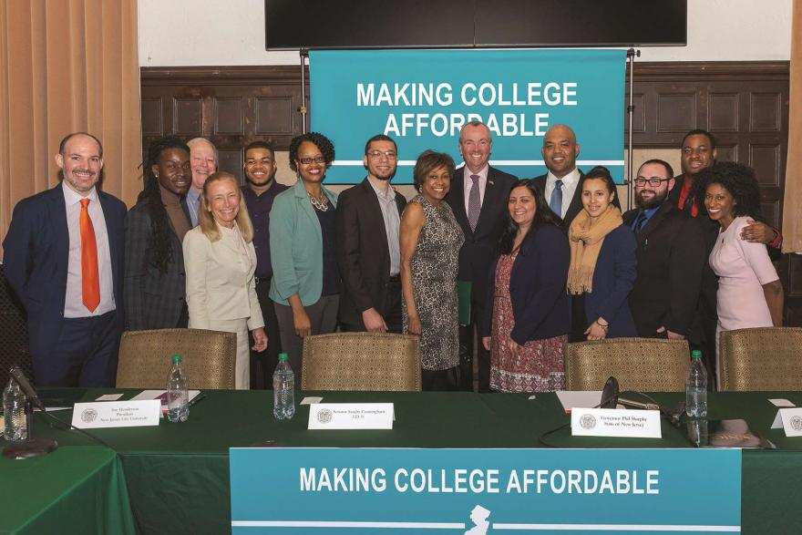 Making College Affordable roundtable participants.