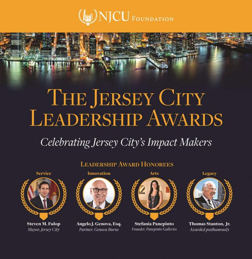 Ad for The Jersey City Leadership Awards.