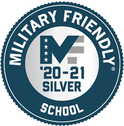 Silver Military Friendly School award for 2020-2021