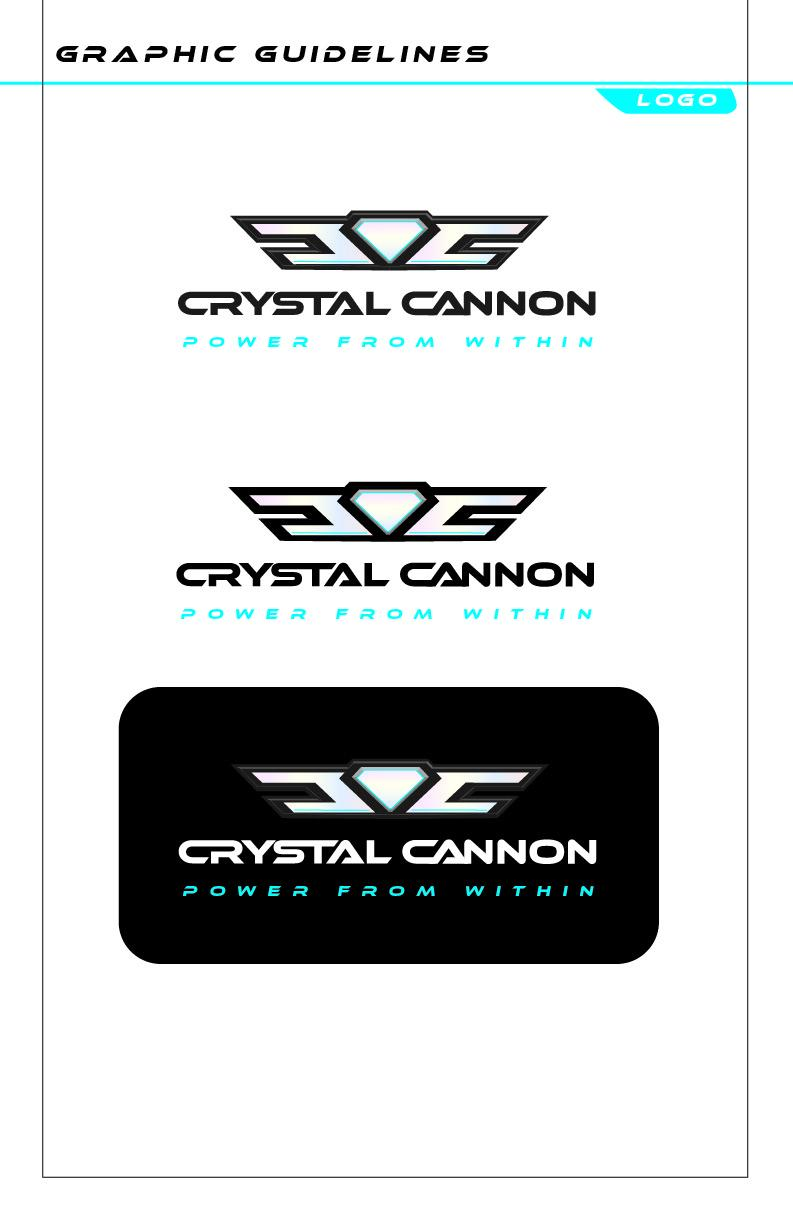 Crystal Cannon logo guidelines