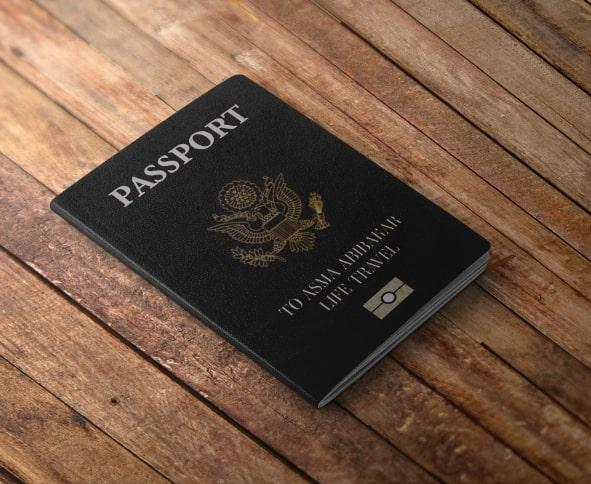 Passport to Asma's Travel