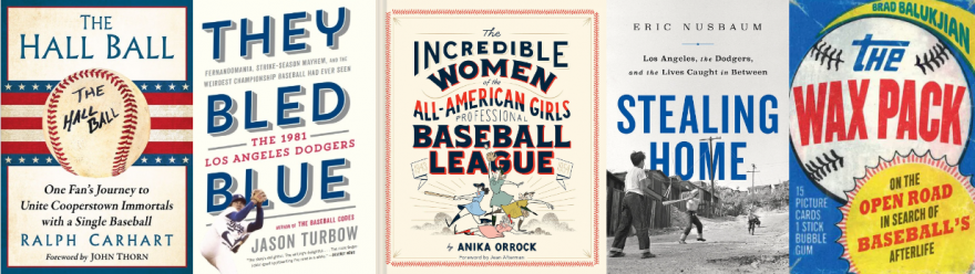 All books from the Pandemic baseball book club