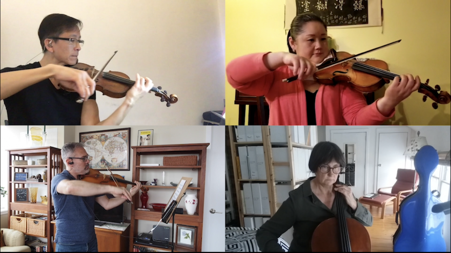 Virtual String Quartet
