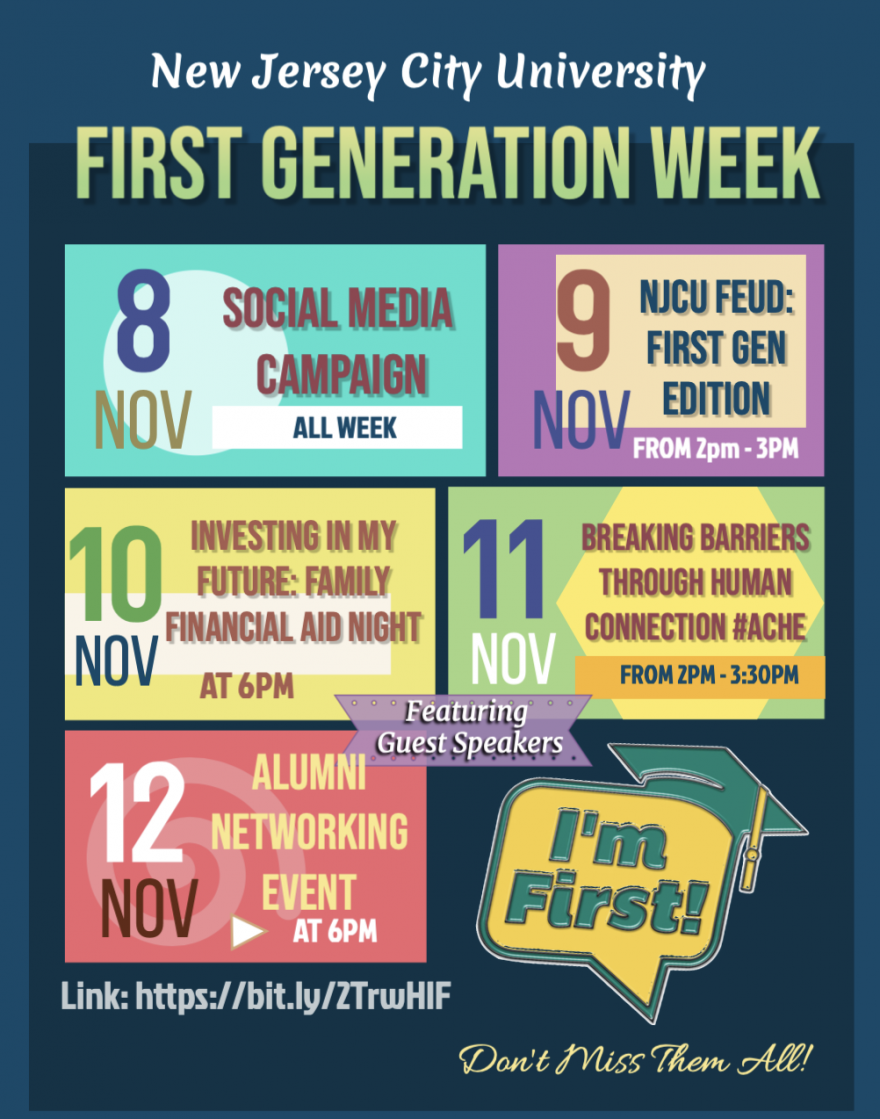FIRST GENERATION WEEK POSTER 2020