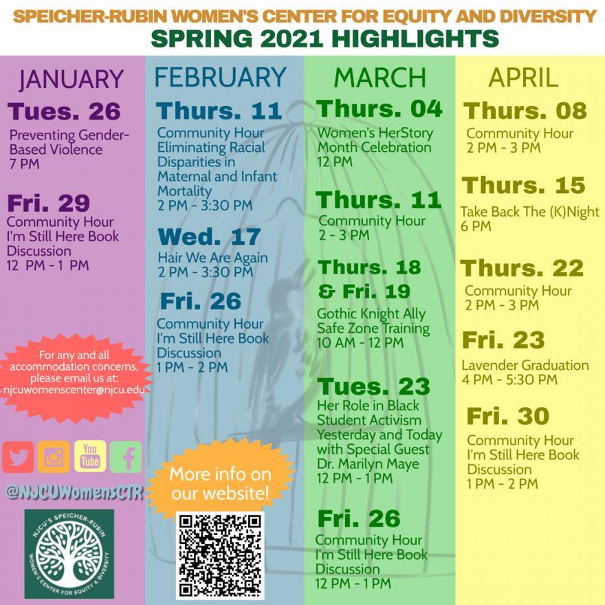Njcu Calendar 2021 Upcoming Events | New Jersey City University