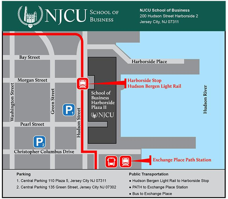 school of business map