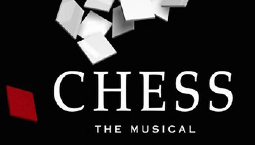 Promotional art for chess the musical