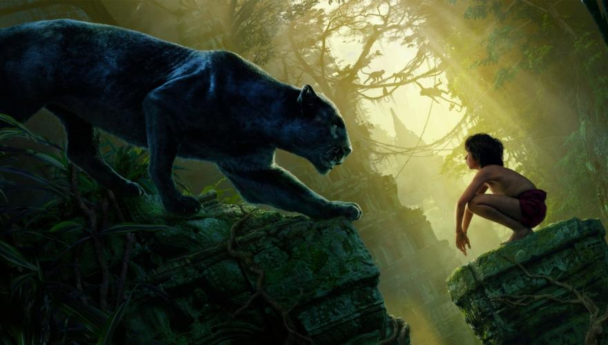 the jungle book lion and boy