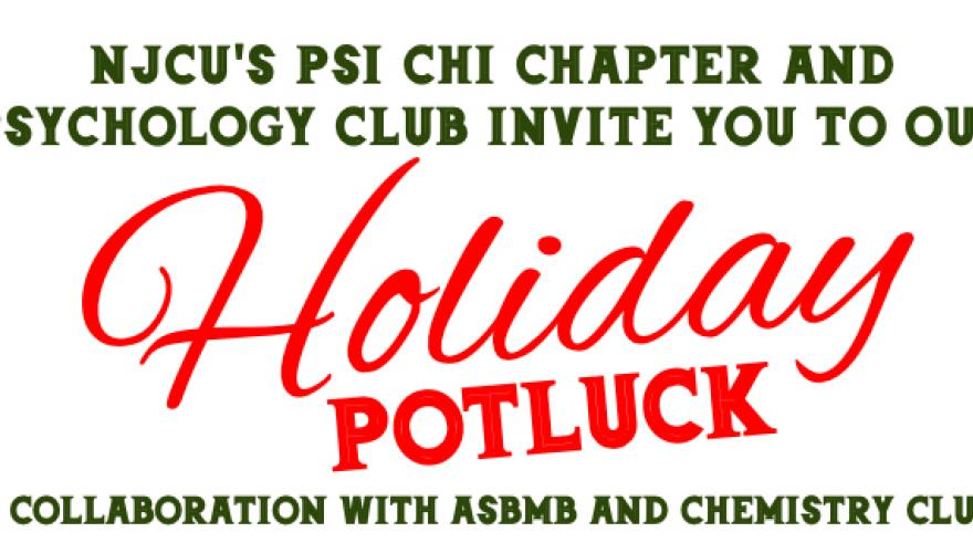 holiday potluck header image