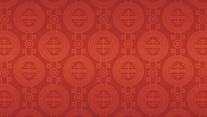 chinese red pattern background