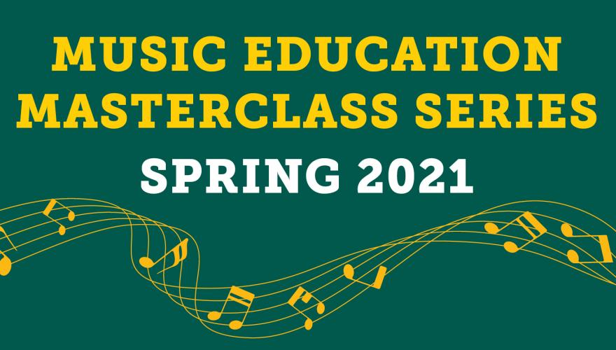 music ed masterclass series header
