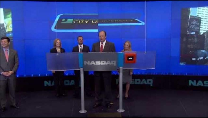 NJCU SIM Group at the NASDAQ
