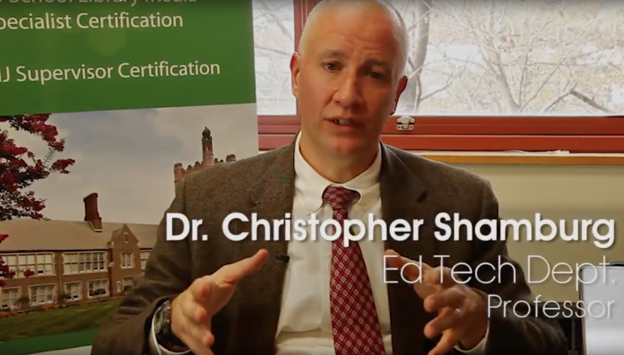 Introduction to the Ed.D. in Educational Technology Leadership Video Title