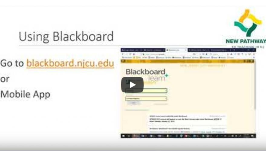 Blackboard video